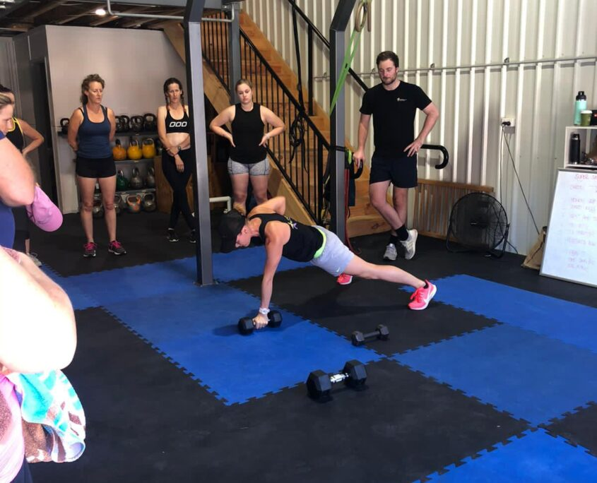 Group fitness at our gym in Kedron