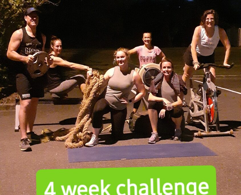 4 week challenge at our gym in Kedron